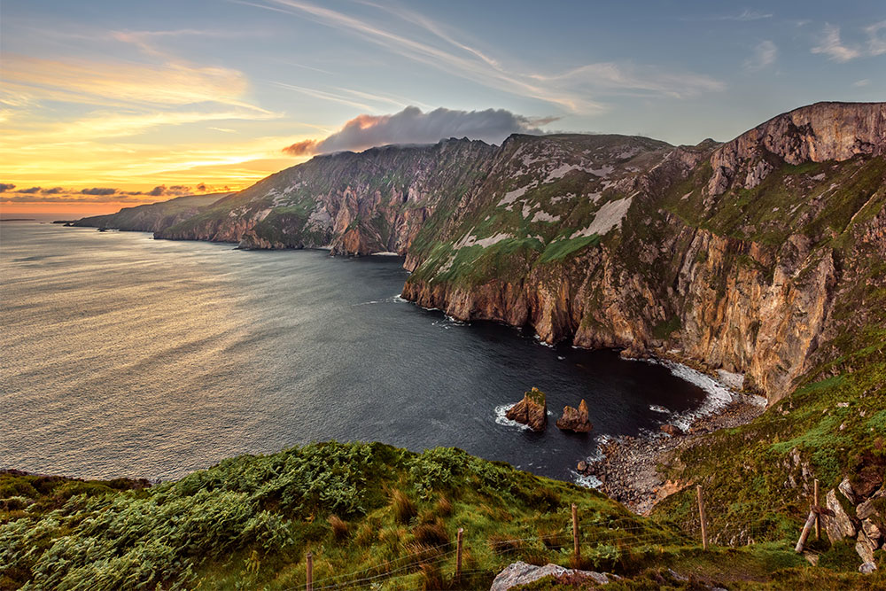 Slieve League breathtaking view