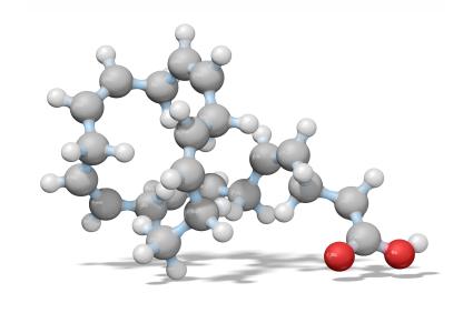 omega-3-molecule DHA EPA