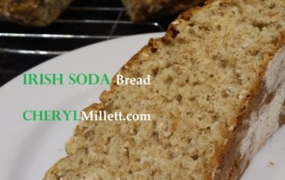 Irish soda bread millet flour Ireland recipe