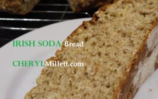Irish soda bread millet flour Ireland recipe