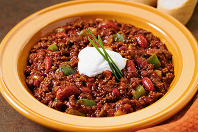 easy chili recipe with toppings