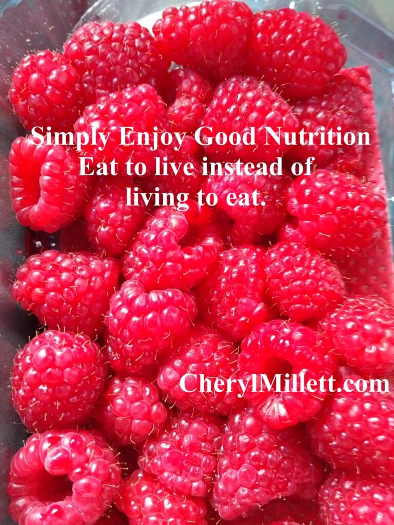 SIMPLIFY nutrition holistic nutritionist Cheryl Millett