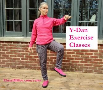 y-dan exercise classes Cheryl Millett