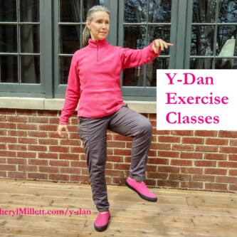 y-dan exercise classes Cheryl Millett